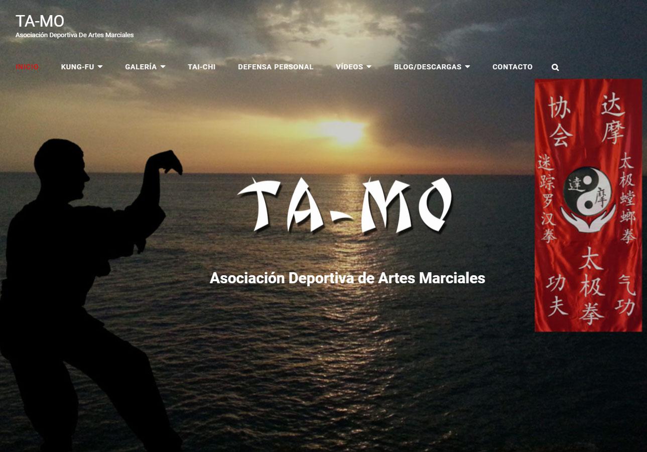 Web de Artes marciales